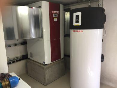WP und WP-Boiler Installation