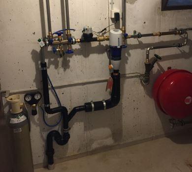 Wasser Enthärtungsanlage